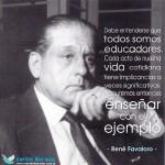 Día Nacional del Médico Social – Frases e imágenes de René Favaloro