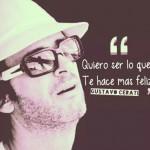 Imágenes con frases de canciones de Gustavo Cerati para compartir