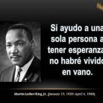 Imágenes con frases célebres de Martin Luther King para compartir