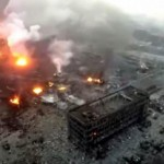 Increíbles imágenes de una tragedia