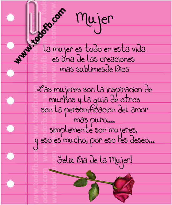 Frases De La Mujer Related Keywords & Suggestions - Frases De La Mujer ...