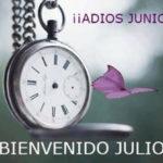 Hola Julio!! Imágenes para dar la bienvenida al mes de julio