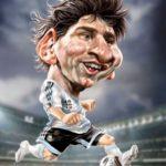 Espectaculares y graciosas caricaturas de actores, actrices, cantantes y futbolistas internacionales