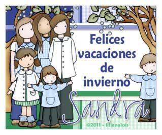 Imagenes De Felices Vacaciones De Invierno Para Colorear Dibujos De