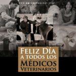 Imágenes hermosas con bonitos mensajes para festejar el día del veterinario