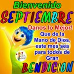 Bellas imágenes con frases cristianas y bendiciones para darle la Bienvenida al mes de Septiembre