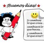 Imágenes de Mafalda con frases reflexivas y motivadoras para compartir en redes sociales