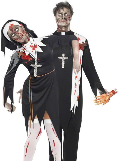 halloweendisfrazparejalos-religiosos-zombies