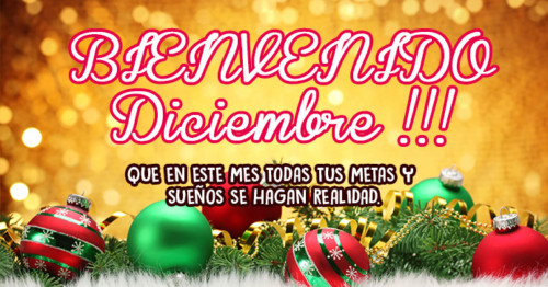 Imagen de diciembre con esferas navideñas. http://fechaespecial.com/