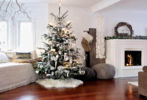Casas De Decoracion La Plata ~ Decoraci?n en blanco y plata para estas Fiestas Navide?as Ideas