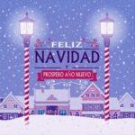 Tarjetas con mensajes bonitos de Felíz Navidad y Próspero Año Nuevo para regalar
