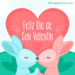 Imágenes bonitas con frases de amor y dibujos para pintar y dedicar el Día de San Valentín