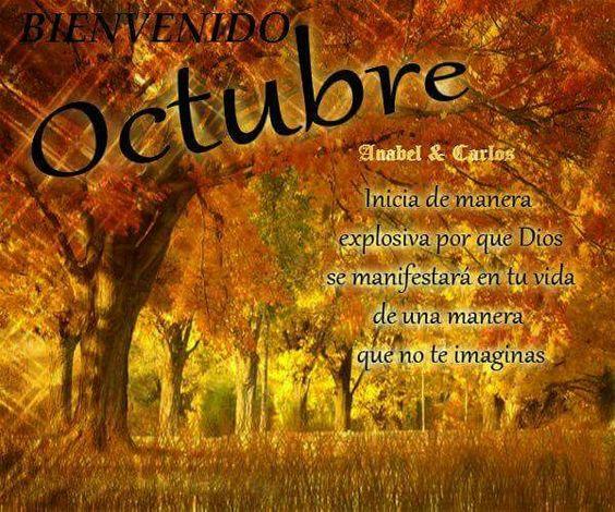 45 Imágenes Para El Mes De Octubre: Frases, Celebraciones