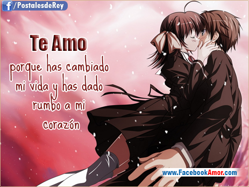 Best Imagenes De Enamorados Con Frases De Amor Anime Image Collection