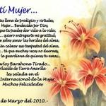 20 Poemas y bellas imágenes con frases y mensajes bonitos para dedicar este Día de la Mujer