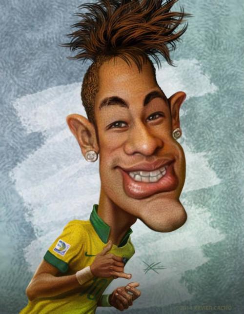 Caricatura-de-Neymar-6
