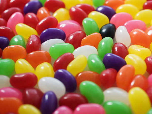 Lots of jellybeans