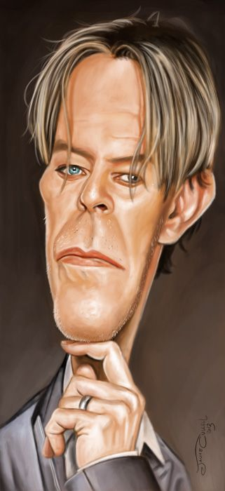 caricaturacantanteDavid Bowie