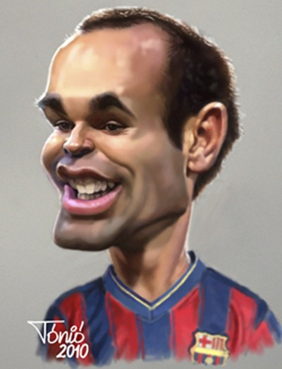 caricaturadeportistainiesta-rf_403397