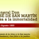 Imágenes para conmemorar el 17 de agosto, día en el que falleció el General San Martin