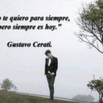 Fragmentos y frases de canciones de Gustavo Cerati para recordar