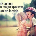 Imágenes de besos y frases lindas para regalar amor
