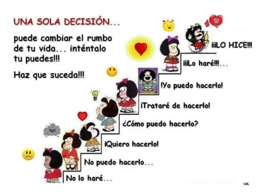 Imágenes de Mafalda con frases reflexivas y motivadoras para ...