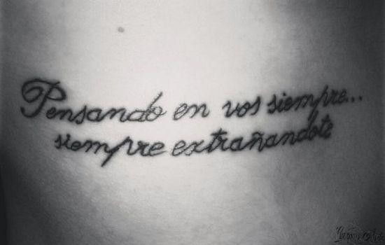 Hermosos Disenos De Tatuajes Con Frases Sencillas De Motivacion Y