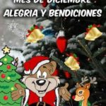 Hermosas postales con frases bonitas para darle la bienvenida al mes de Diciembre