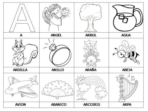 Imágenes Infantiles Y Educativas Para Colorear Y Aprender Mejores