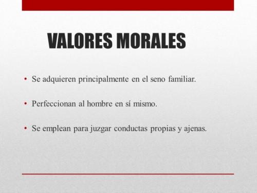 0540d7280c44 Imagen con información sobre los valores morales para que puedas aprender a  cerca de estos valores.