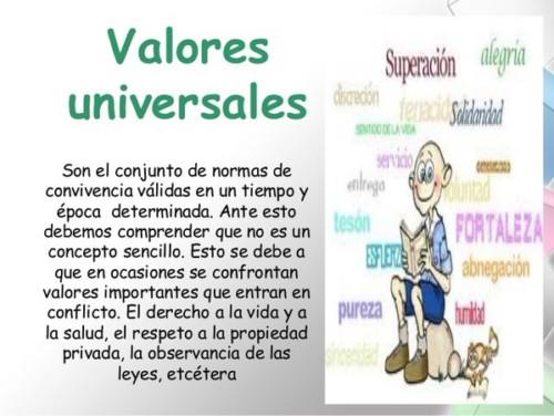 Valores Universales Morales Familiares Y éticos Imágenes E