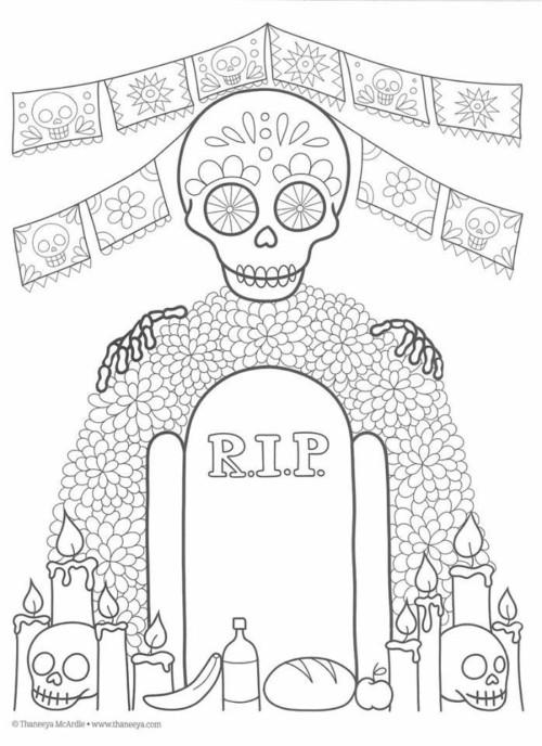 90 Imágenes de Día de Muertos: Calaveras, dibujos, altares y ...