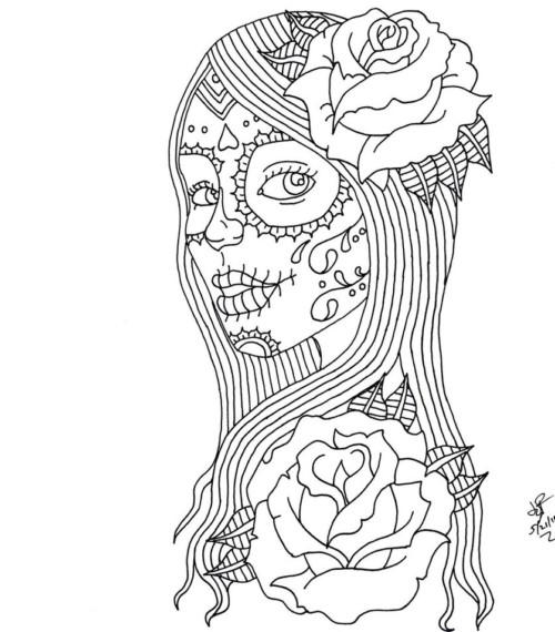 90 Imágenes De Día De Muertos Calaveras Dibujos Altares Y