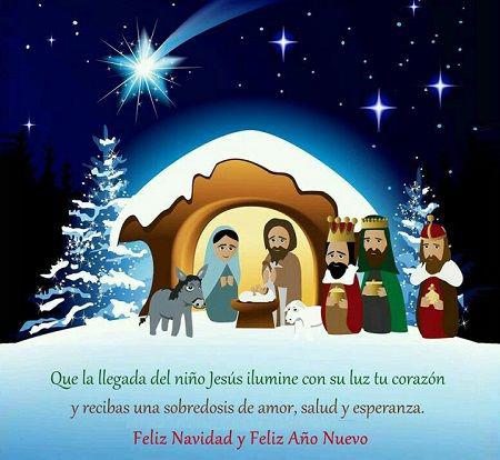 44 im genes frases y mensajes cristianos de navidad 2018 - Tarjetas navidenas cristianas ...