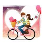 Imágenes de San Valentín con frases para enamorados