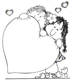 Dibujos Del Amor Y La Amistad Para Colorear The Blouse